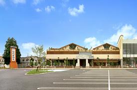 ショッピングセンター共同駐車場